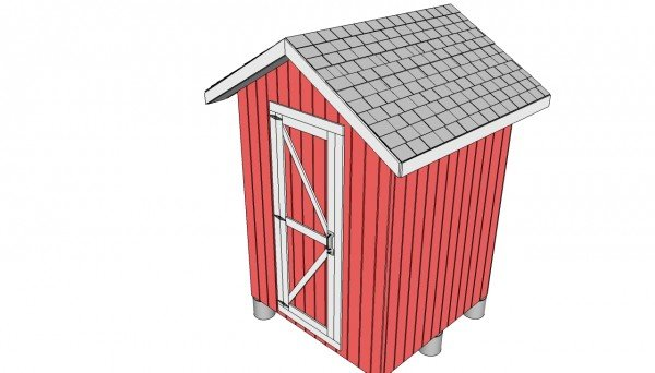 Small shed door plans