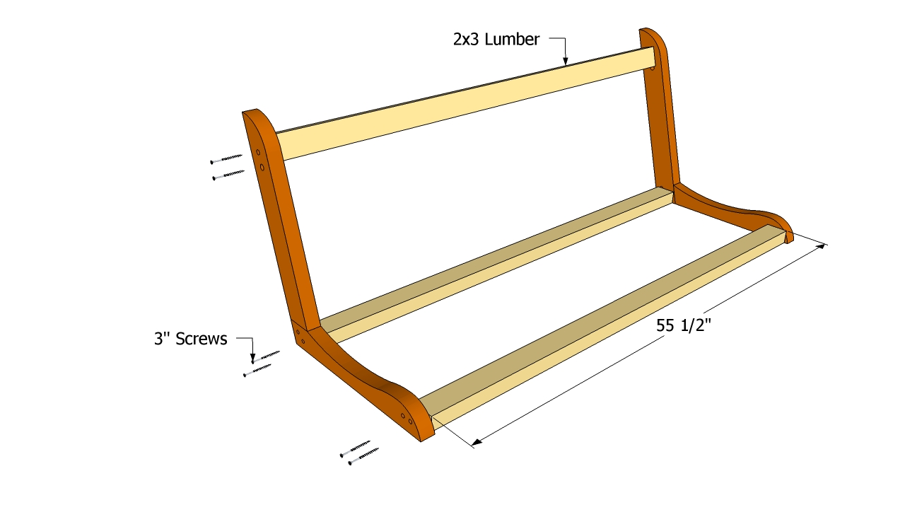 Free Porch Swing Plans | Free Outdoor Plans - DIY Shed ...