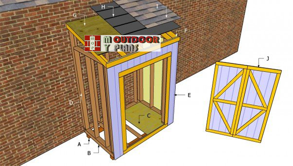 Attaching-shed-plans-free