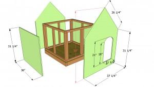 Attaching the exterior siding