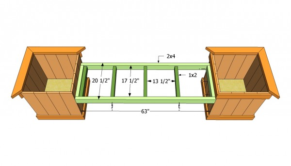 Planter Bench Plans | MyOutdoorPlans | Free Woodworking Plans and ...