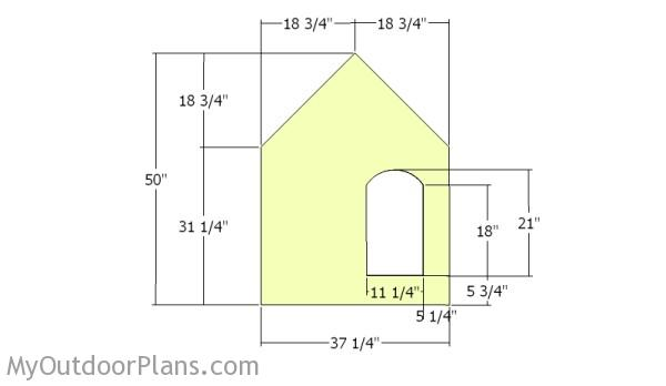 Insulated dog house plans myoutdoorplans free for Dog house layouts