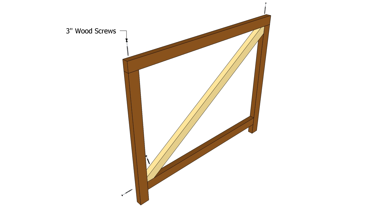 Build A Garden Gate Frame