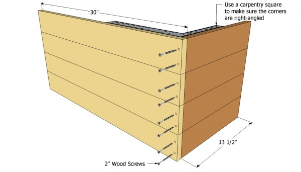 planter with trellis plans myoutdoorplans free woodworking