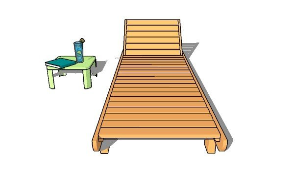 Chaise Lounge Chair Plans