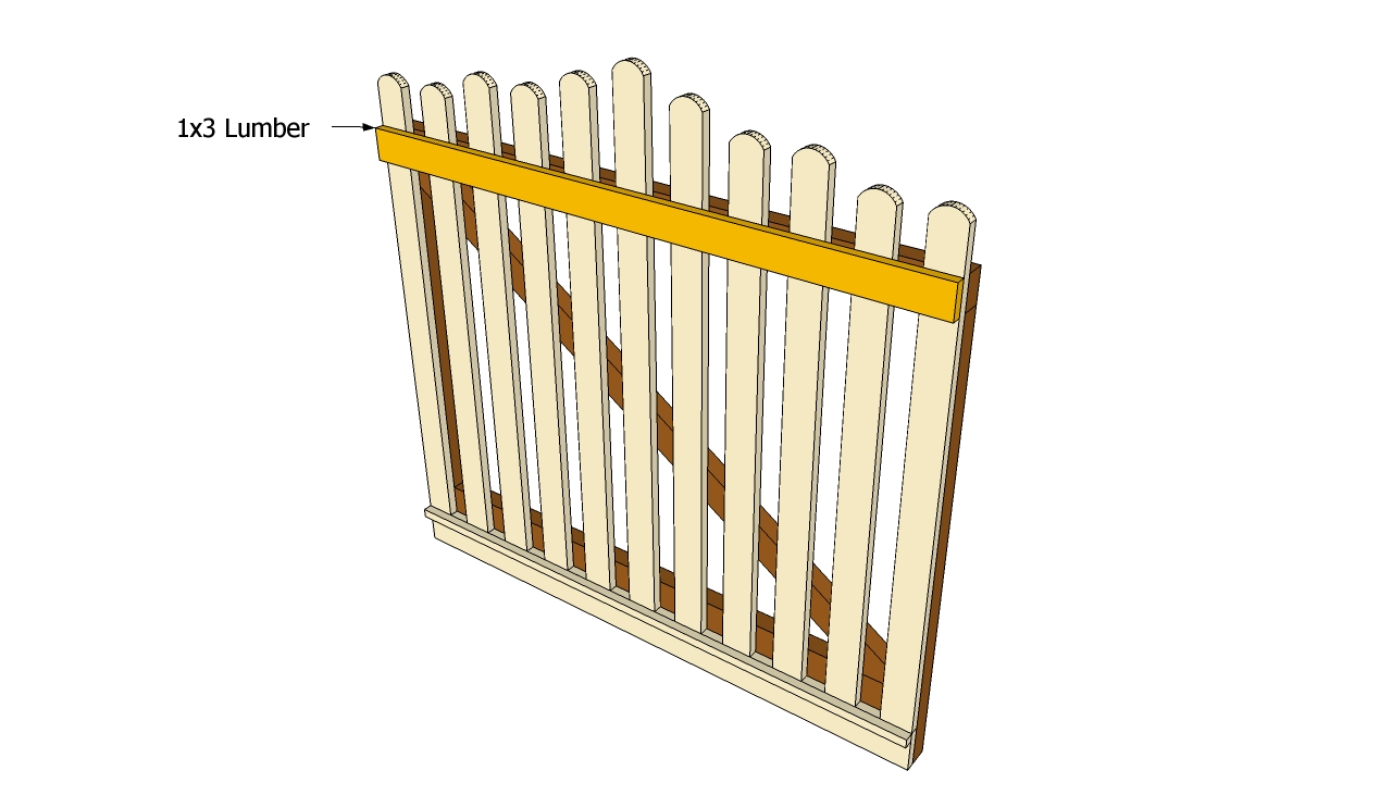 Garden Gate Plans | Free Outdoor Plans - DIY Shed, Wooden ...