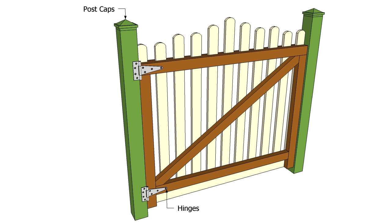 Garden Gate Plans Free Outdoor Plans Diy Shed Wooden