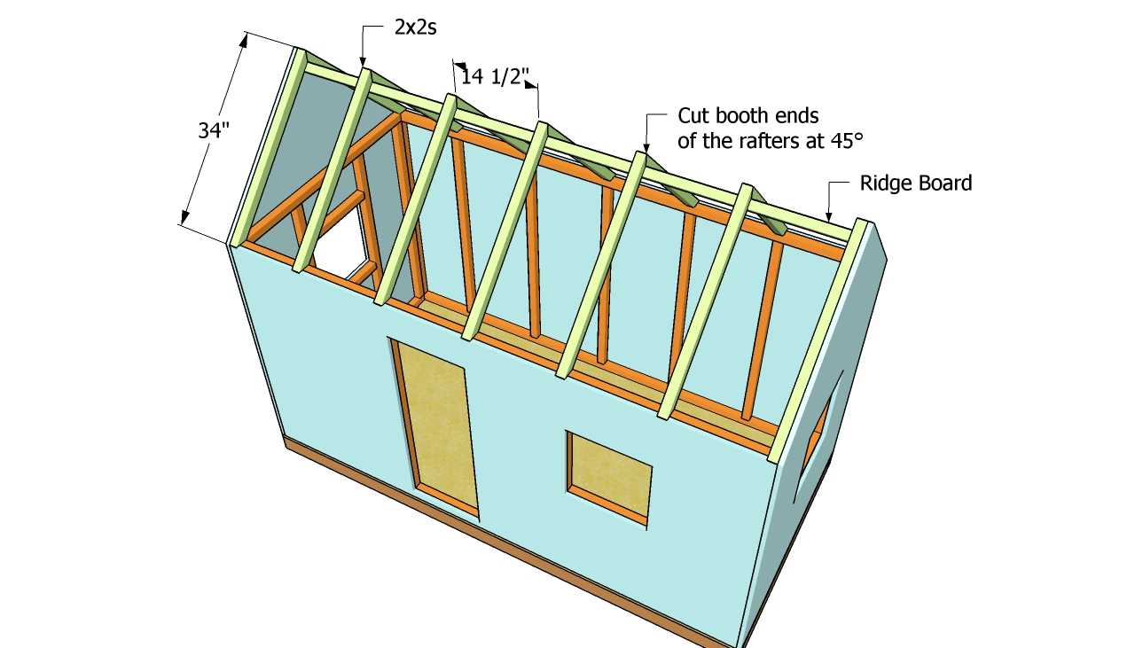 Pdf Diy Playhouse Roof Design Download Power Chair Ramp