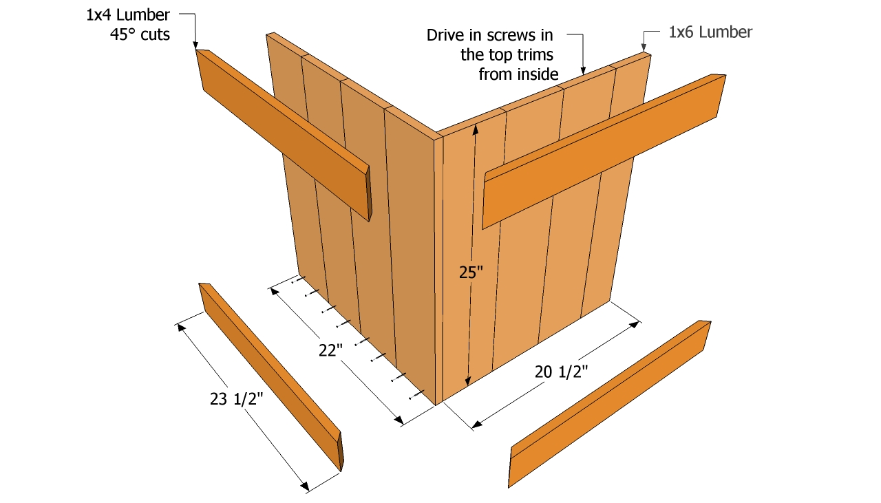Woodworking diy wood planter bench projects PDF Free Download