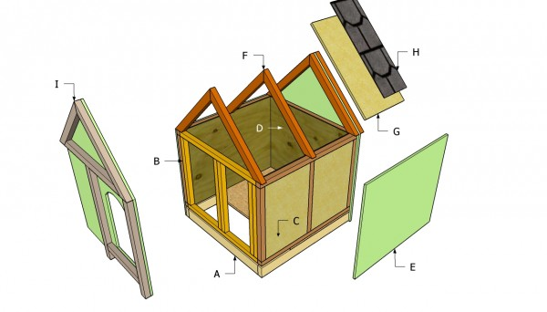 Insulated Dog House Plans Myoutdoorplans Free