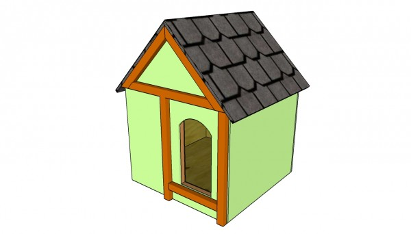 Insulated Dog House Pl...