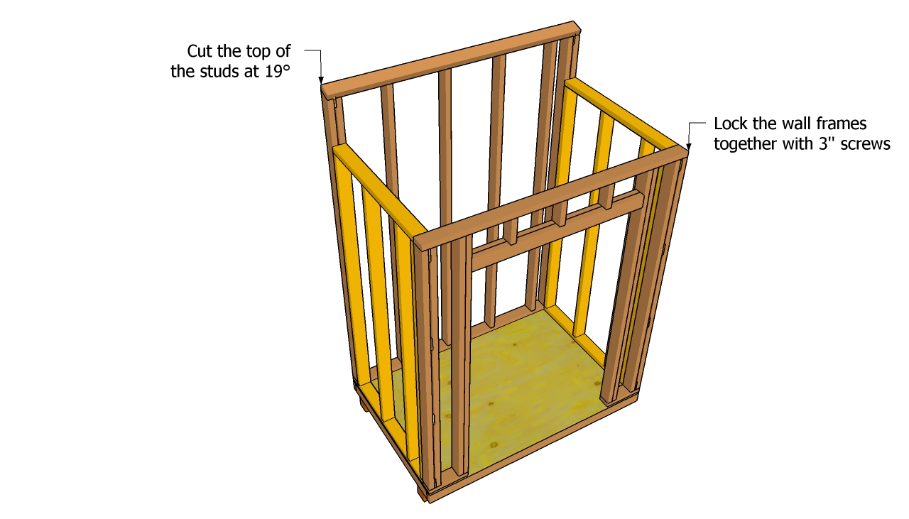 Wood Lean to Shed Plans Free