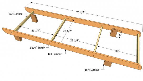 Ordinaire Lounge Chair Frame Plans