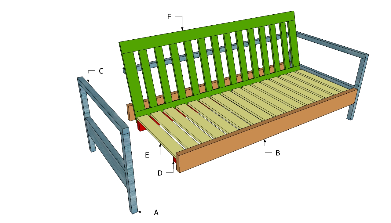 Pdf diy outdoor sofa plans download outdoor cat house for Outdoor sofa plans