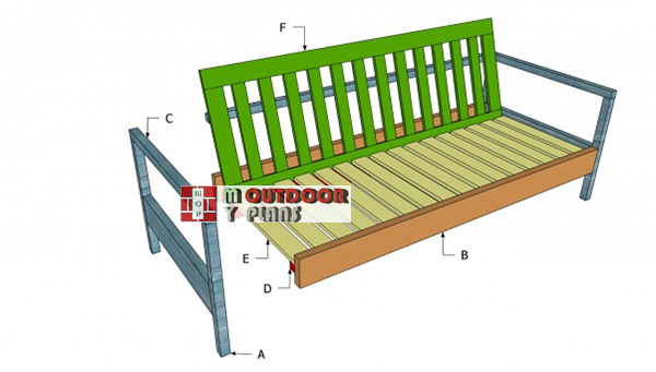 Outdoor-couch-plans