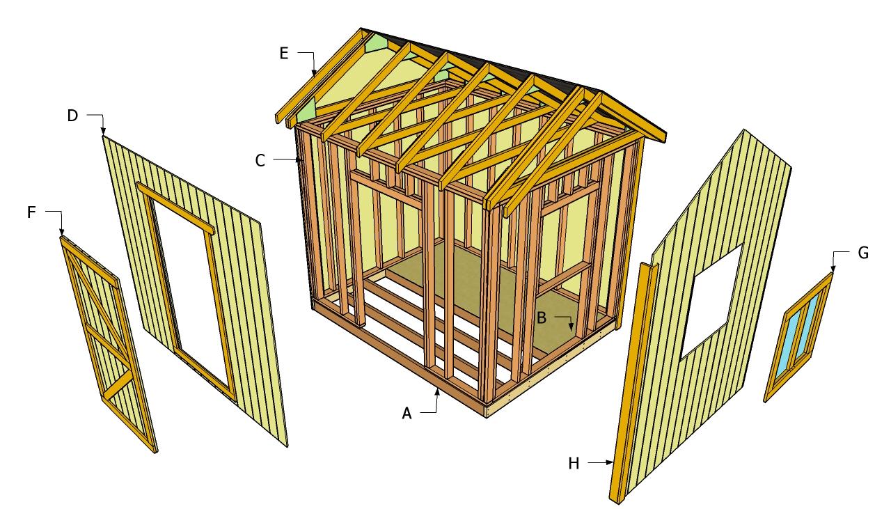 Storage Shed Building Plans