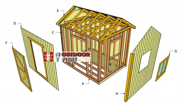 Outdoor-shed-building-plans