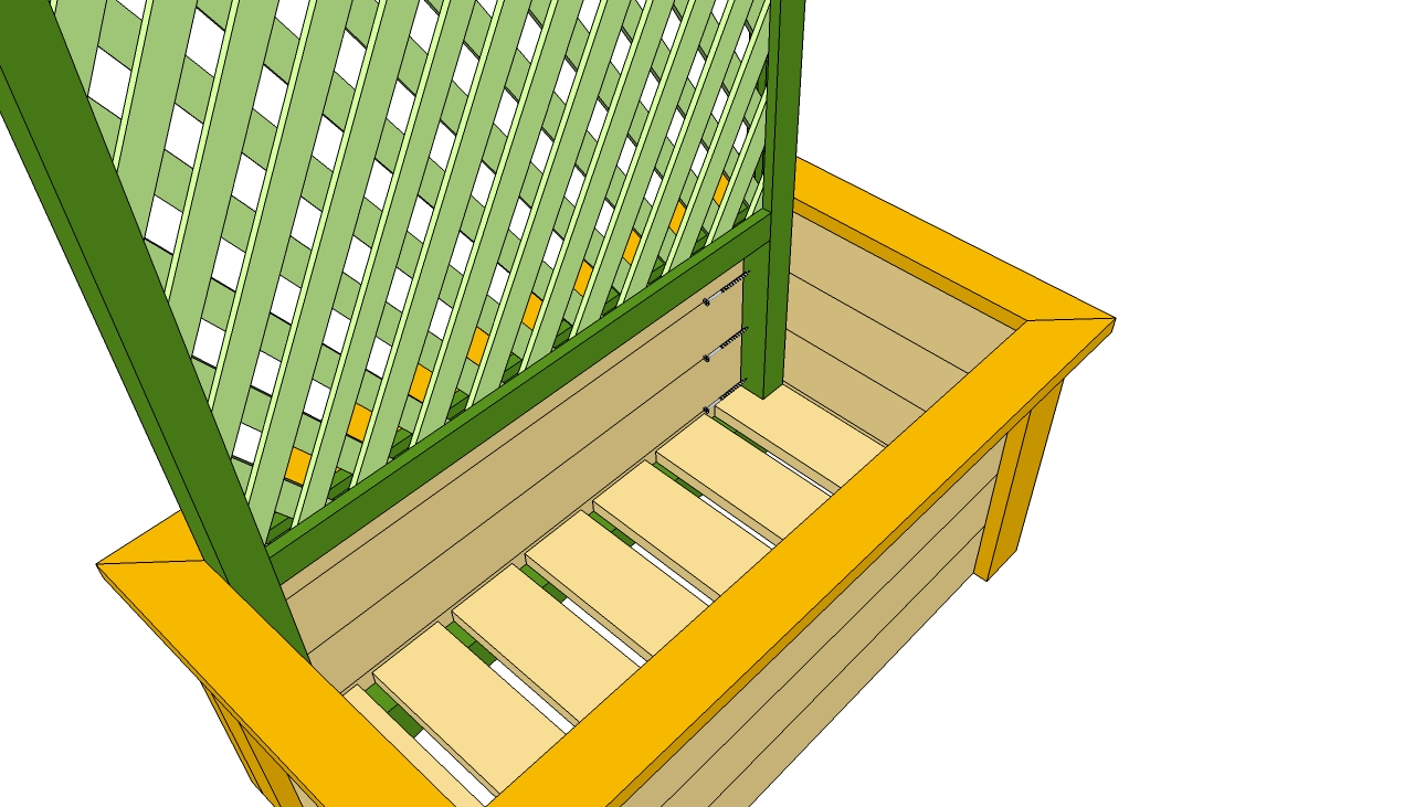 Planter Box Page 3 How To Build A Trellis Planter Plans How To Build ...