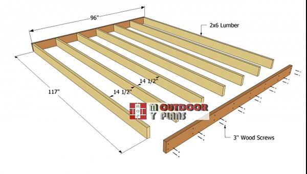 Shed-floor-frame