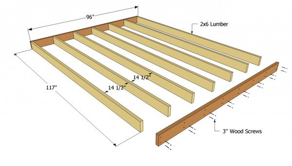 Outdoor Shed Plans Free. Shed Floor Plans