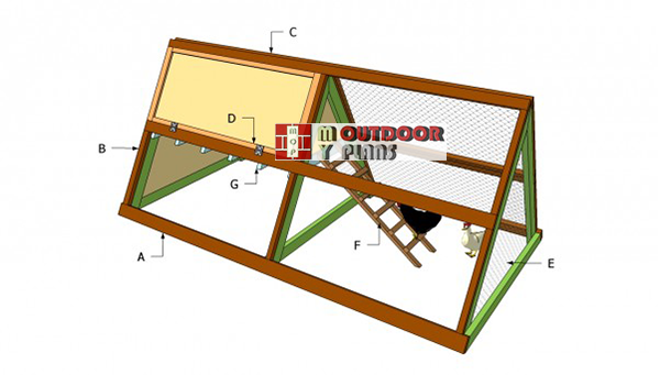 Simple-chicken-coop-plans