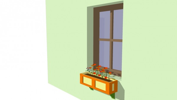 Window flower box plans