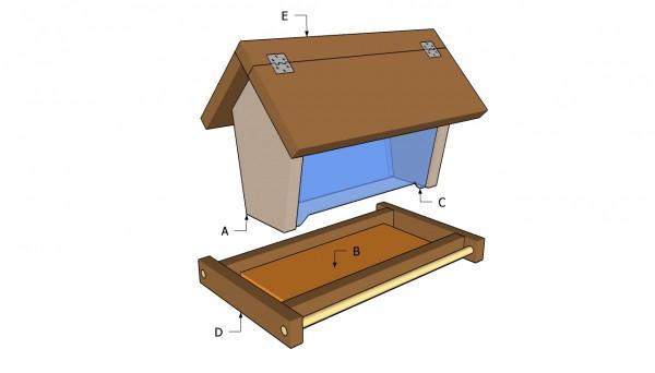 Bird feeder plans free