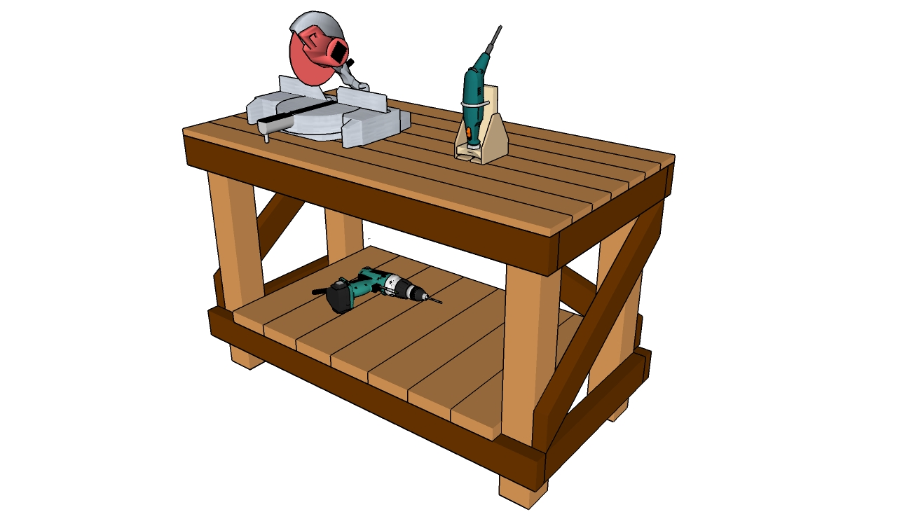 Diy Workbench Plans