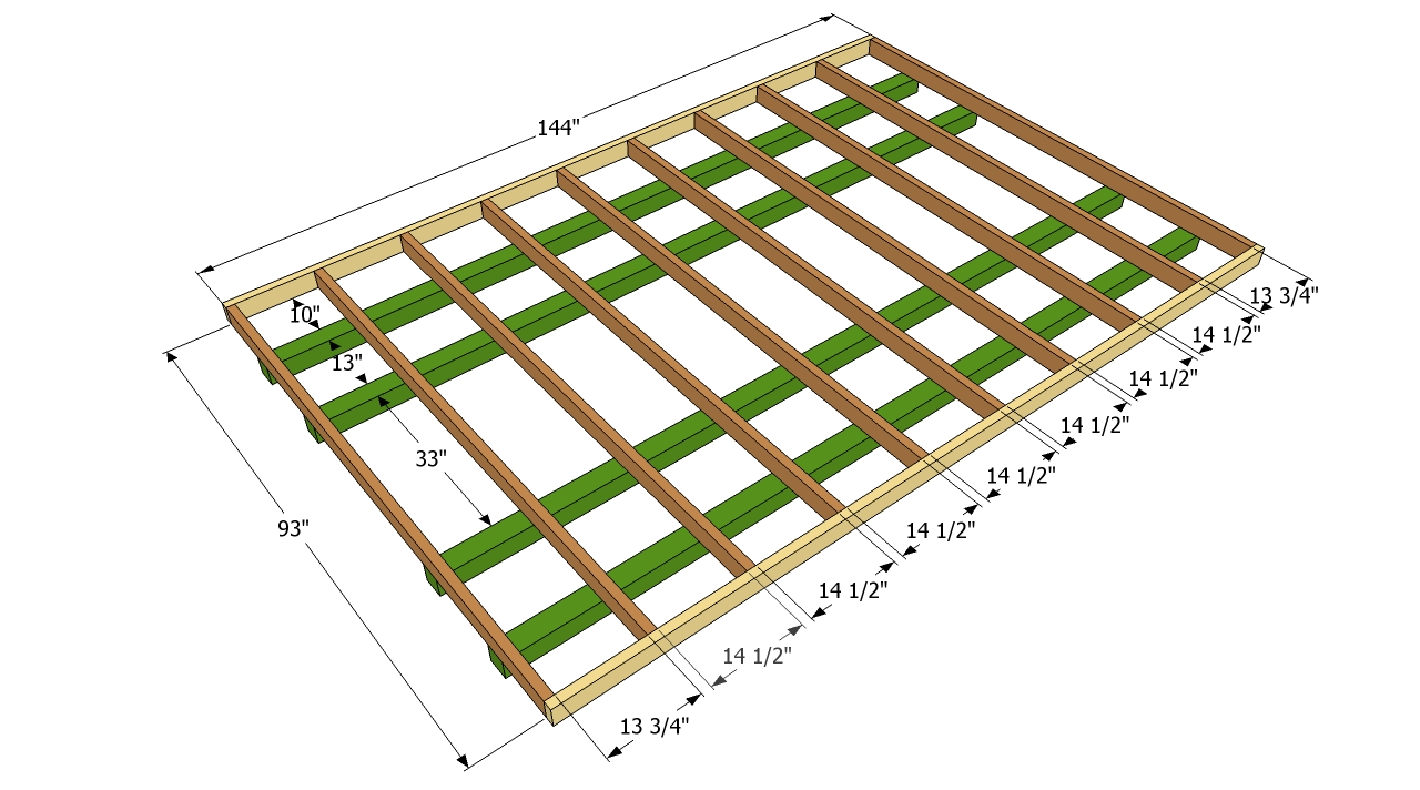 Small shed floor plans 5 x 5