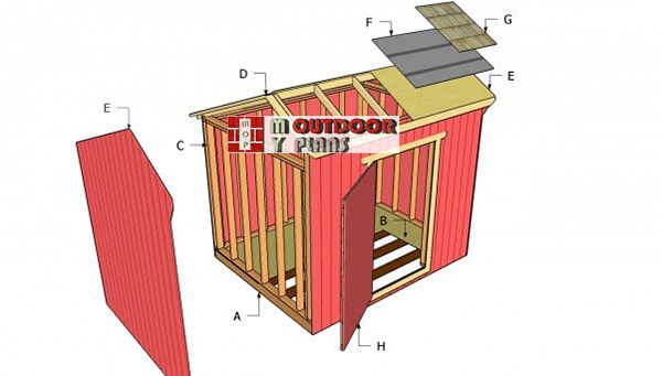 Free-saltbox-shed-plans