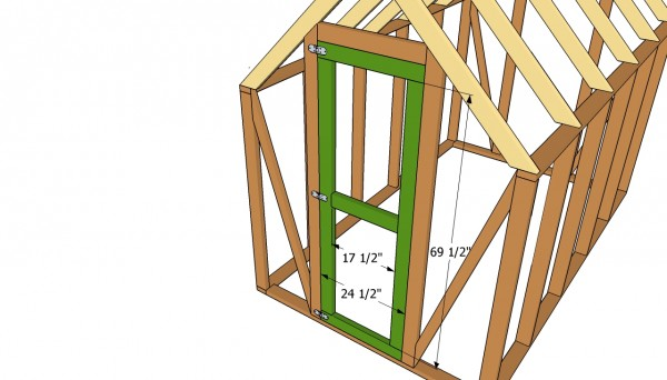 Greenhouse door plans