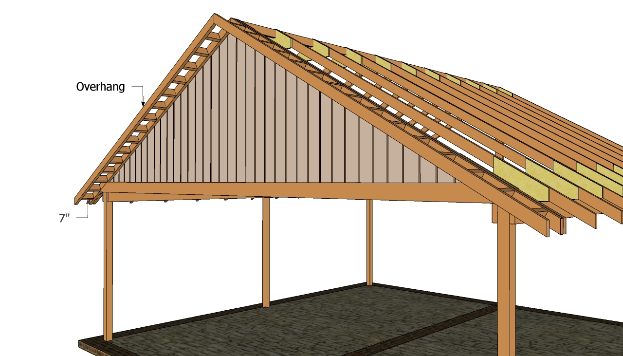Double carport plans  Free Outdoor Plans  DIY Shed
