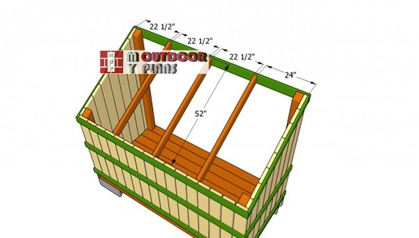Installing-the-rafters-for-woodshed