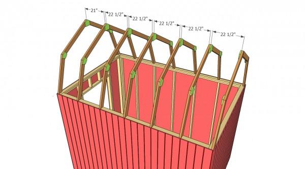 Gambrel Shed Plans Myoutdoorplans Free Woodworking