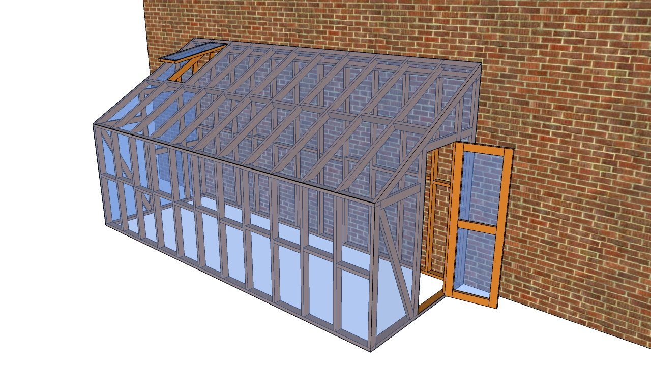 Lean to Greenhouse Plans