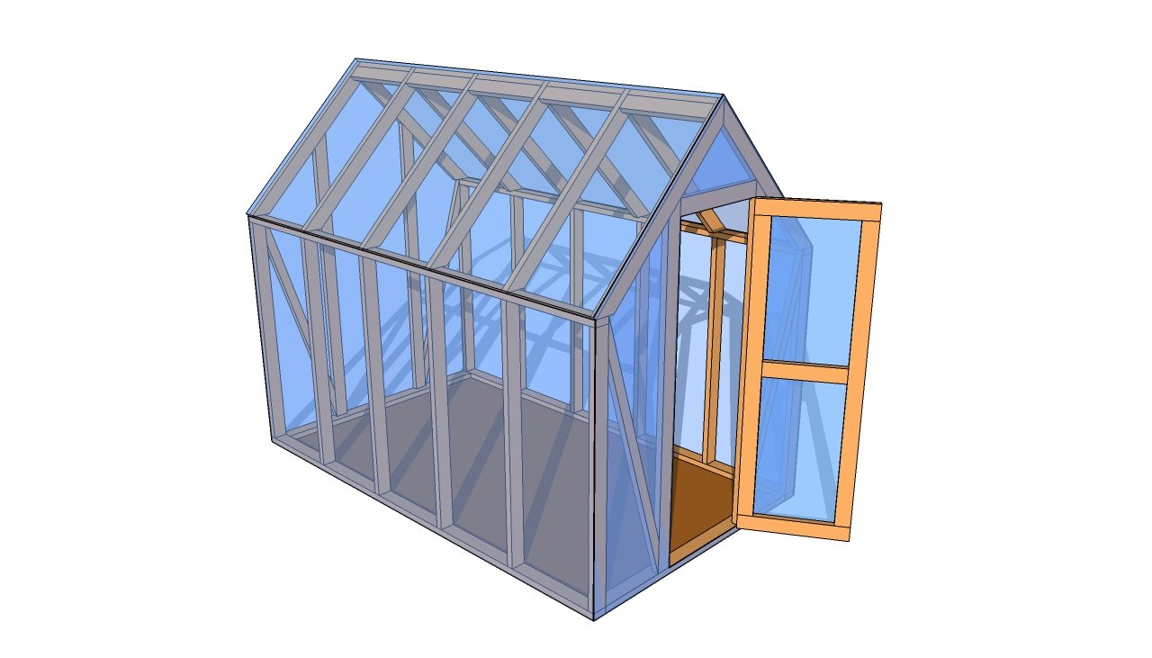 Lean to greenhouse plans MyOutdoorPlans Free Woodworking Plans