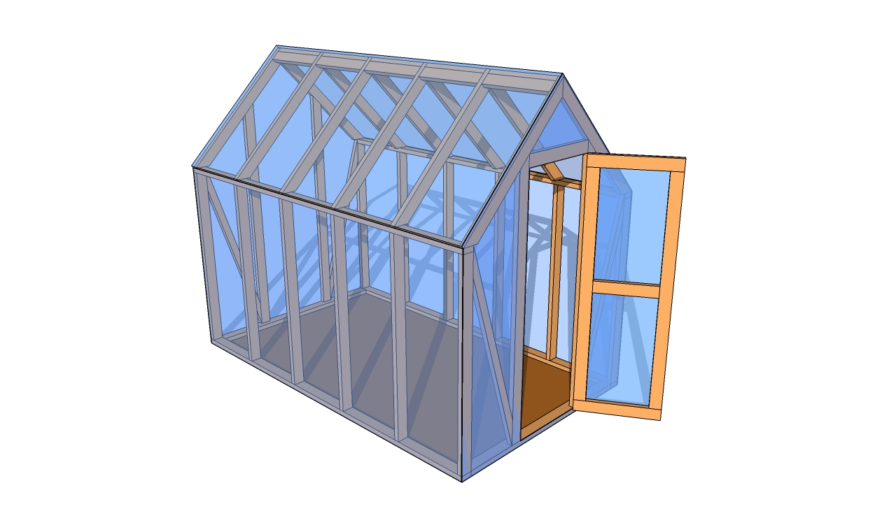 Mini greenhouse plans myoutdoorplans free woodworking for Mini potting shed