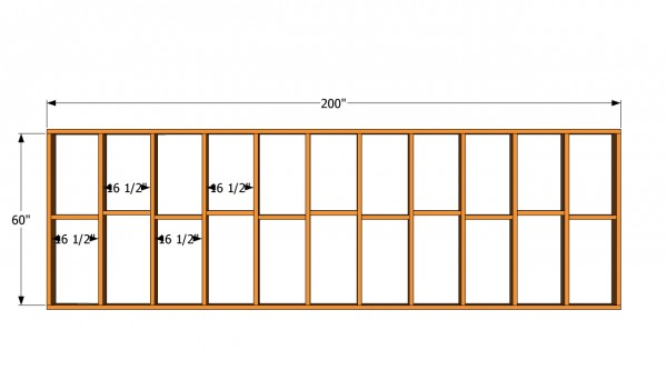 Small wall plans