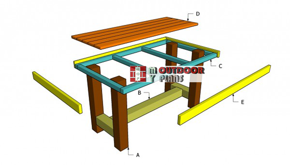 Wooden-table-building-plans