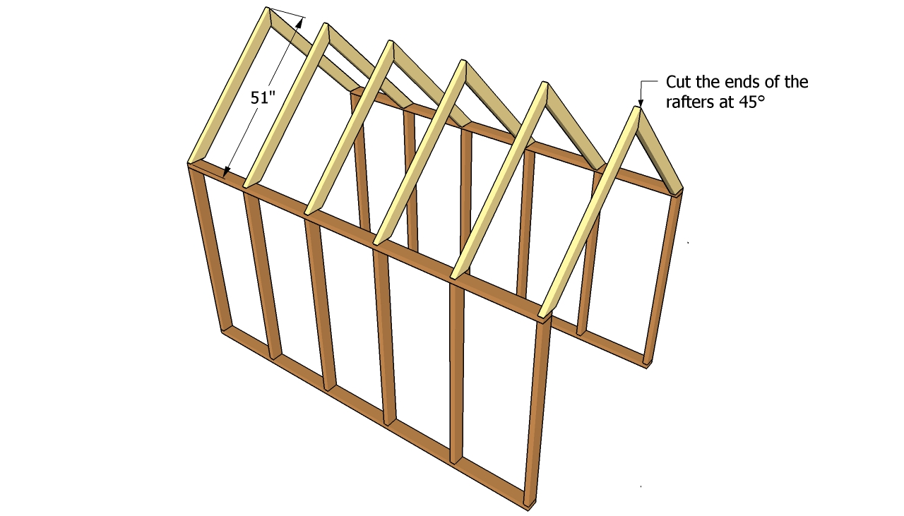 Scle: Shed designs with hip roof
