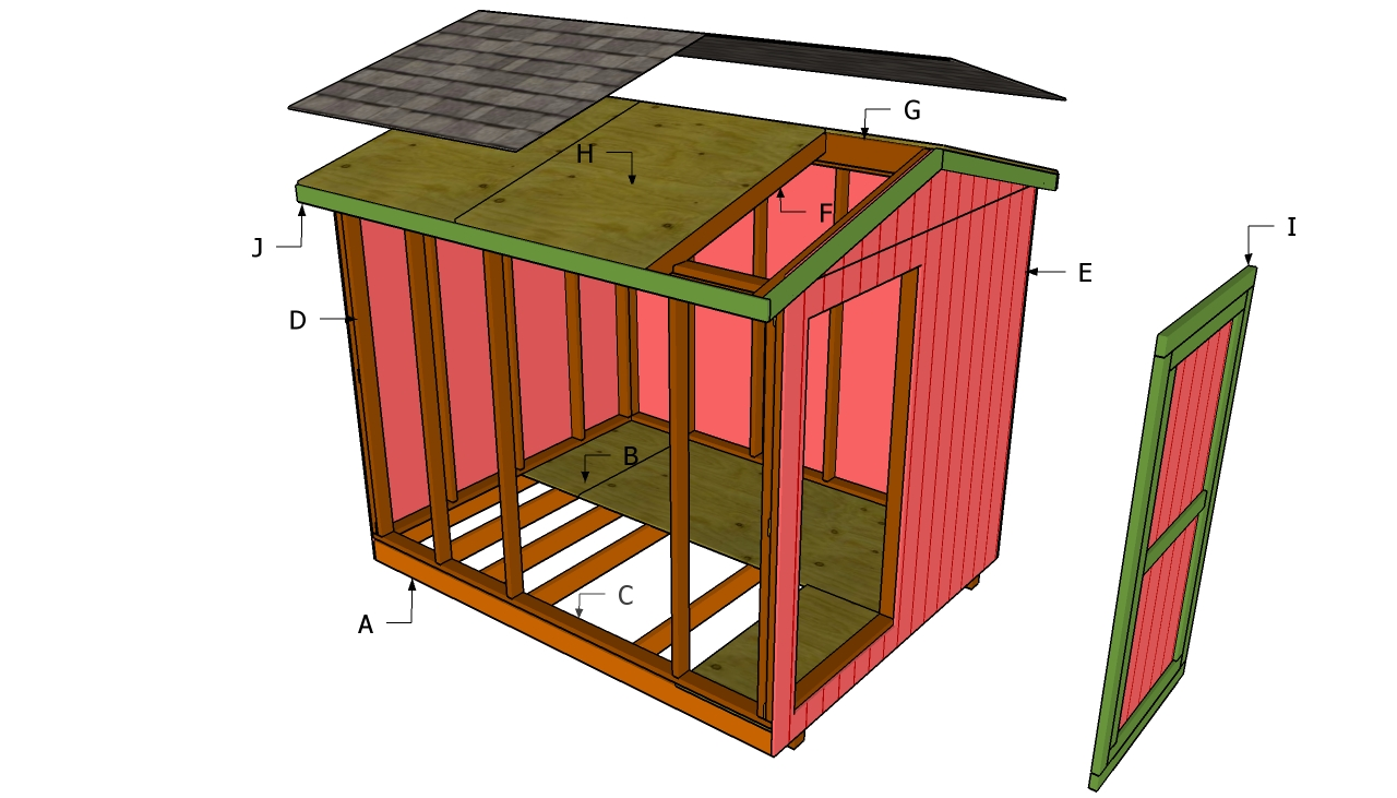 diy 8x10 shed plans 8x10 wood shed plans free small bathroom designs ...