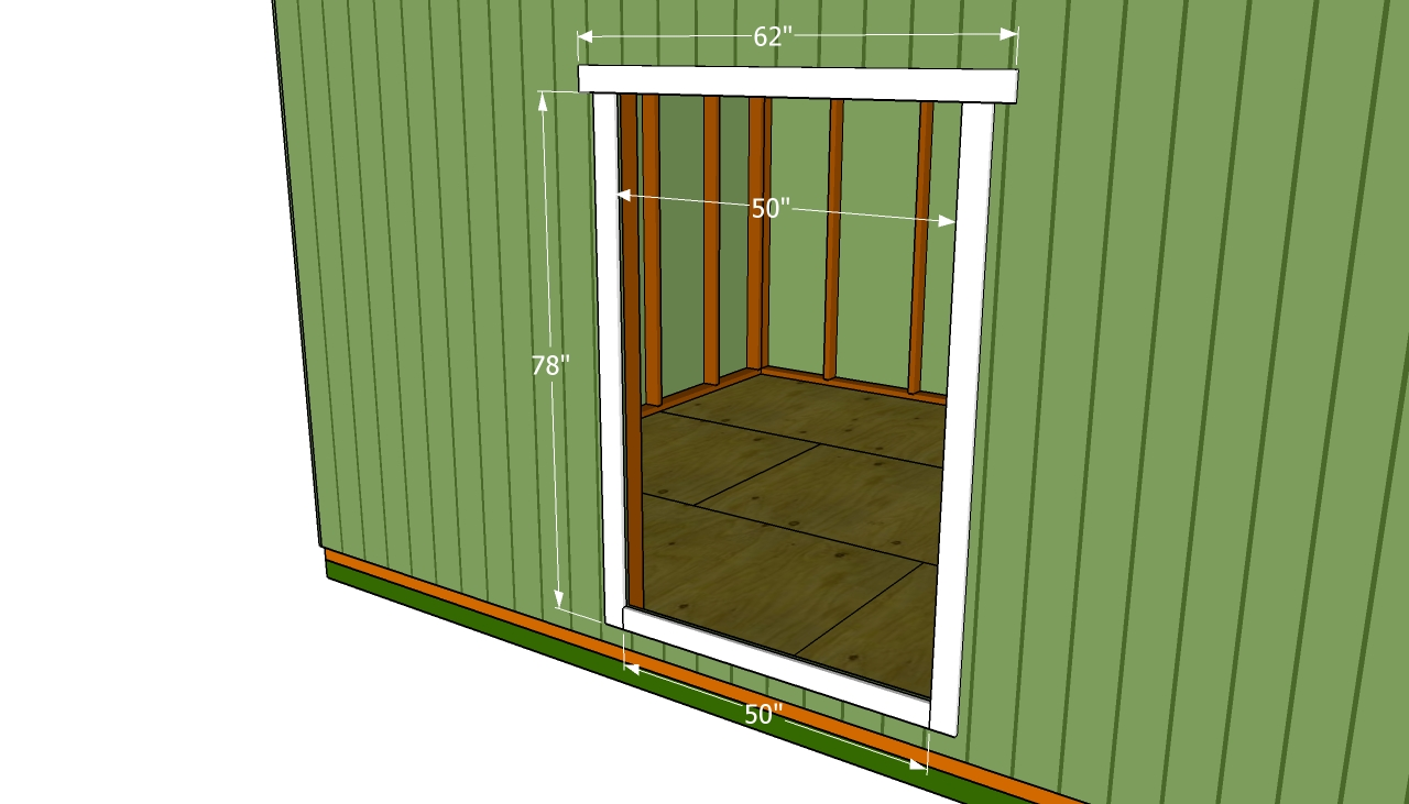 Double Shed Door Plans | Free Outdoor Plans - DIY Shed, Wooden ...
