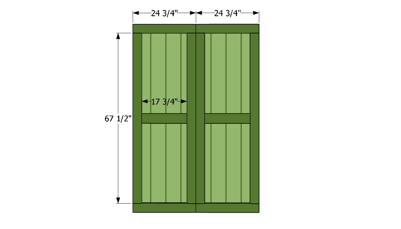 double shed door plans free outdoor plans diy shed