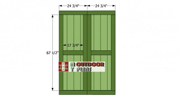 Double-doors