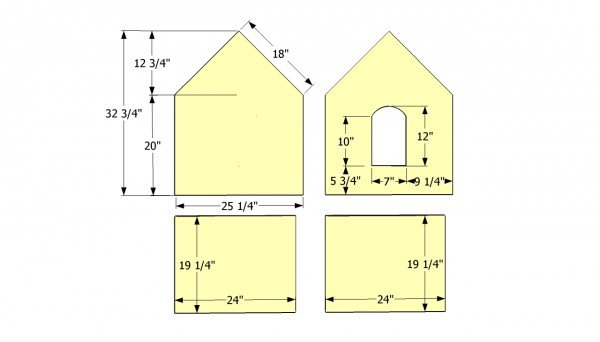 Small Dog House Plans Myoutdoorplans Free Woodworking