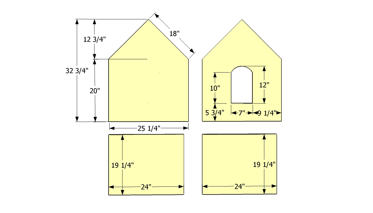Dog trot house plans images - Small dog house blueprints ...