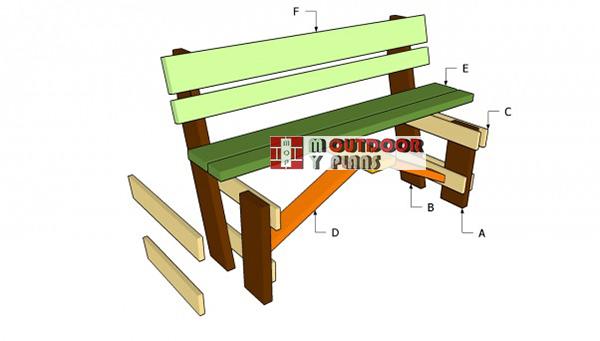 Free-garden-bench-plans