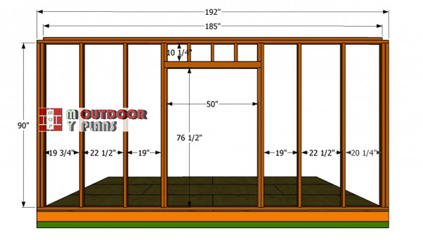 Front-wall-plans