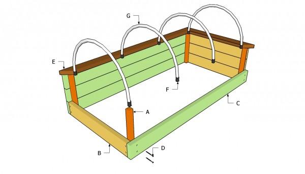 Garden raised bed plans free