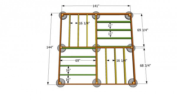 Gazebo floor plans